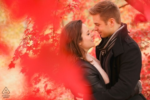 Shepperton Engagement Portrait Photograph by Katie Roberts