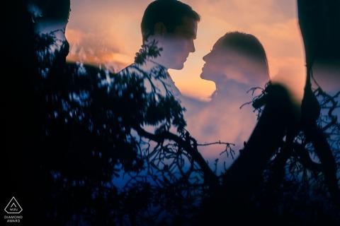 San Diego Engagement Portrait Photograph by Kristina Cazares-Neri