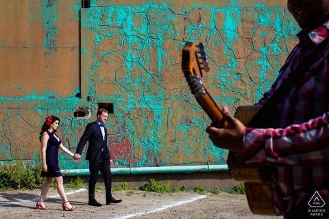 Photographie de portrait de fiançailles à San Diego par Kristina Cazares-Neri