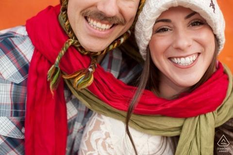 Chandler Engagement Portrait Photograph by Laura Segall