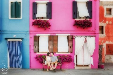 Schio Engagement Portrait Photograph by Luca Fabbian