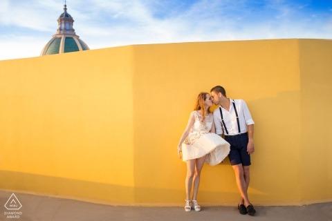 Taormina Engagement Portrait Foto door Nino Lombardo