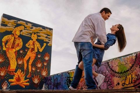 Portret zaręczynowy w Limie Zdjęcie: Omar Berr
