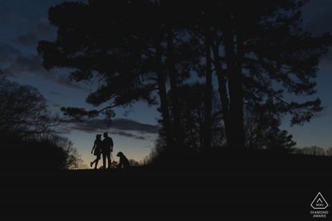 Kennesaw Engagement Portrait Photograph by Orlando Suarez