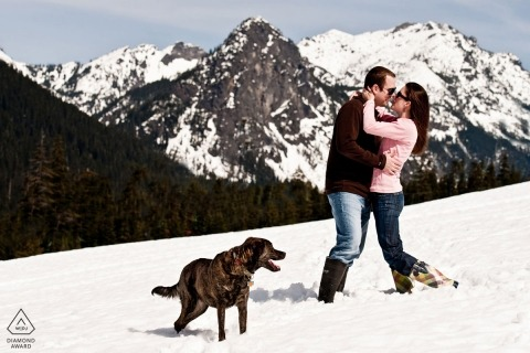 Lynnwood Engagement Portrait Photograph by Siang Loo
