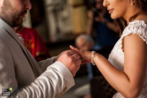 Albert Buniatyan is een prijswinnende trouwfotograaf van de WPJA in Armenië