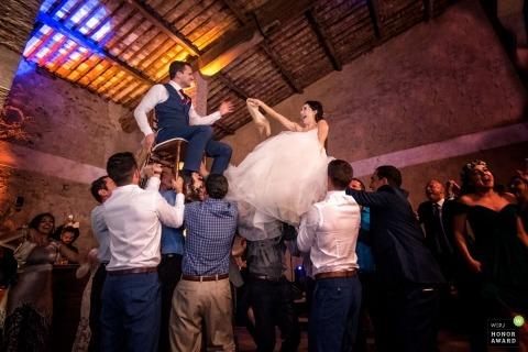 Alessandro Colle is an award-winning wedding photographer of the MS WPJA