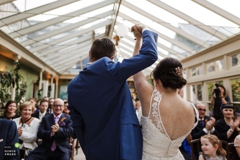 Annie Kheffache is an award-winning wedding photographer of the DB WPJA