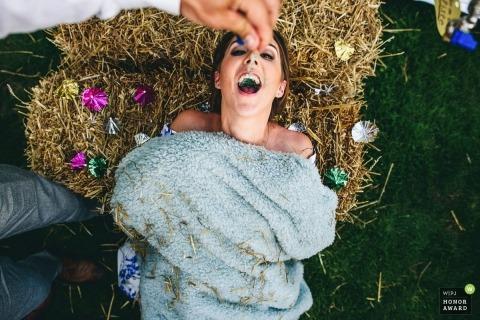 Ashley Davenport is an award-winning wedding photographer of the DER WPJA