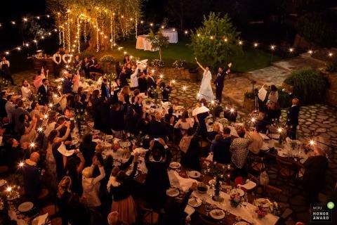 Damiano Salvadori is an award-winning wedding photographer of the  WPJA