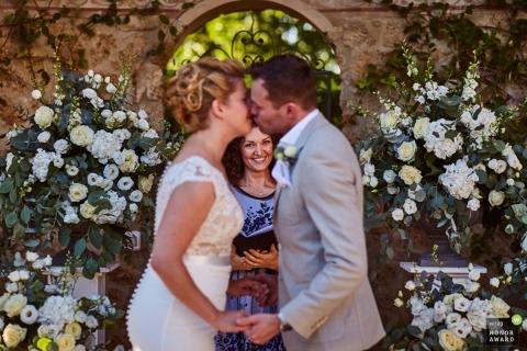 Damiano Salvadori is an award-winning wedding photographer of the FI WPJA