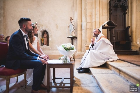Franck Petit is an award-winning wedding photographer of the  WPJA