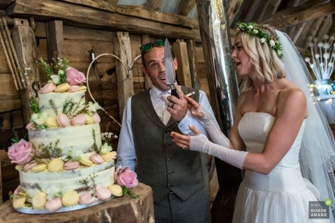 Helen Batt is an award-winning wedding photographer of the KEN WPJA