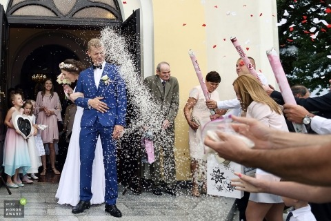 Justyna Ortyl is an award-winning wedding photographer of the  WPJA