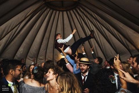 Lyndsey Goddard is an award-winning wedding photographer of the LND WPJA