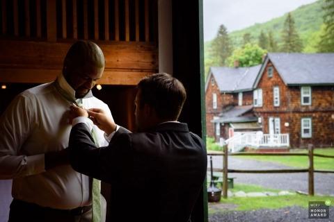 Mitch Wojnarowicz is een prijswinnende trouwfotograaf van de NY WPJA