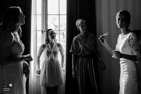 Nadine Court is an award-winning wedding photographer of the  WPJA