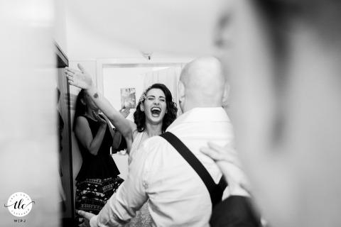 Premier regard sur le jour du mariage à Sofia, Bulgarie