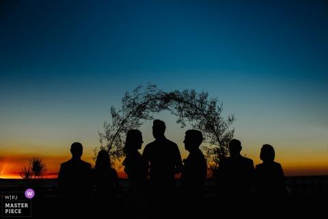Porto Alegre, State - Rio Grande do Sul, Brasil Outdoor Ceremony at Sunset