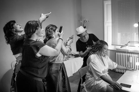 Samuele Ciaffoni, of Ancona, is a wedding photographer for