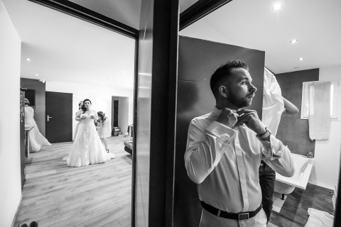 David Zaoui, of Florida, is a wedding photographer for Aubenas, France
