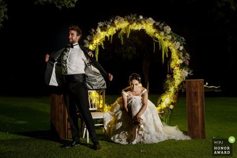Preparándose para el primer baile: kyrenia, Chipre, fotografía de bodas