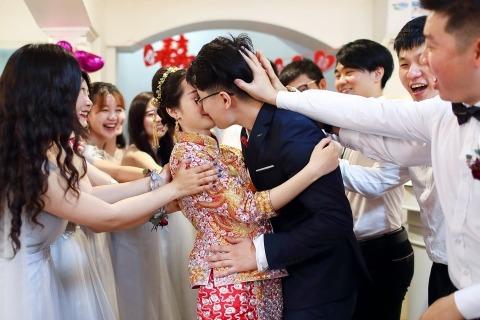 Eric Liao, van, is een trouwfotograaf voor