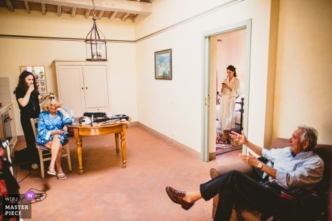 Wedding photography in Montalcino