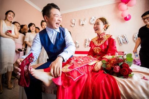 Mango Gu, di, è un fotografo di matrimoni per