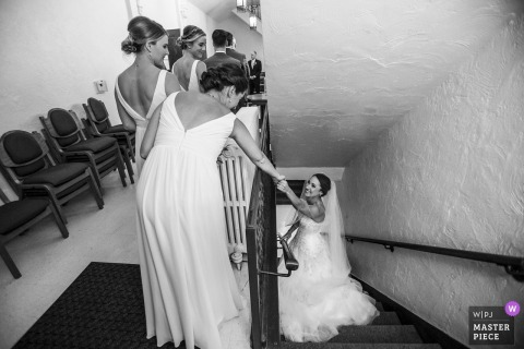 Ruthie Hauge, of Wisconsin, is a wedding photographer for Pres House, UW Madison, WI