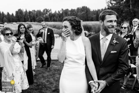 David Clumpner, de Montana, es un fotógrafo de bodas para Whitefish, Montana