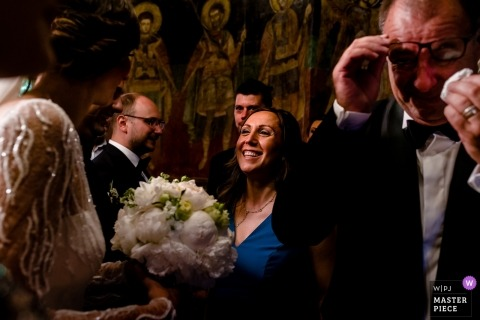 București Wedding Photojournalism | tears for dad Joy for the bride