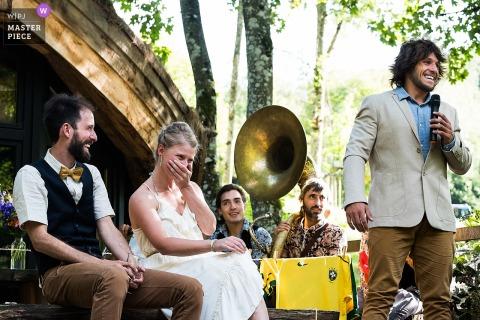 Joshua Dhondt, of Antwerpen, is a wedding photographer for Les cabanas de Rensiwez