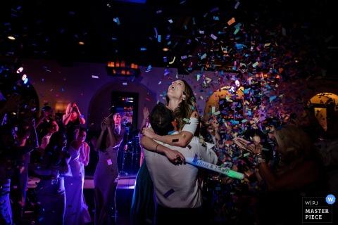De laatste dans van de nacht ... met confetti | Florida Key West