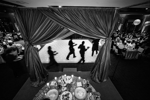 Emin Kuliyev, di New York, è un fotografo di matrimoni per Washington DC