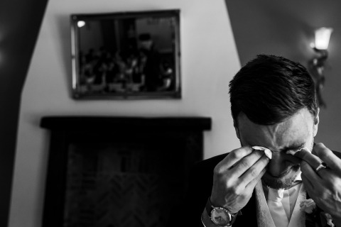 蘭開夏郡的托尼達西是一位婚禮攝影師