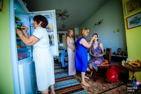 Stille Vorbereitung der Braut | Brautvorbereitung in Ruse Bulgarien