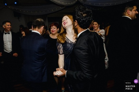 Wedding Dance Floor Celebration in NSW