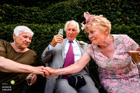 Ticehurst guests enjoying the reception