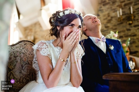 Romantyczne i zabawne wesele francuskie | Château de la Colaissière, 49270 Orée d'Anjou