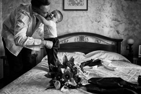 Maurizio Gjivovich, de Turin, est photographe de mariage pour Cerrione Tenuta Castello TO