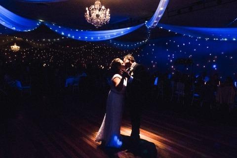 Dean Dampney, uit New South Wales, is een trouwfotograaf voor NSW Australia