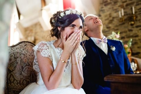 Romantic and fun French wedding