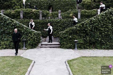 Matteo Reni, de Varese, est un photographe de mariage pour ITALIE - Villa Bossi Bodio Lomnago
