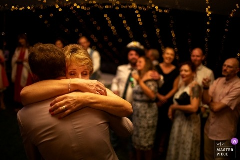 Florence Wedding Photojournalist | dancing and hugging in Tuscany