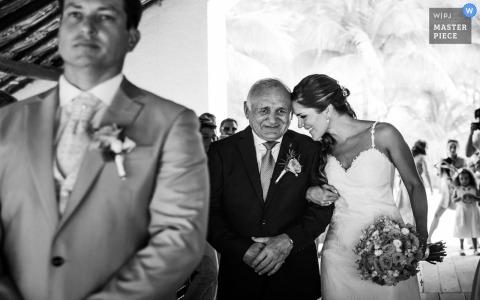 Vater weinen | dich zu lieben | Hochzeits-Fotojournalismus