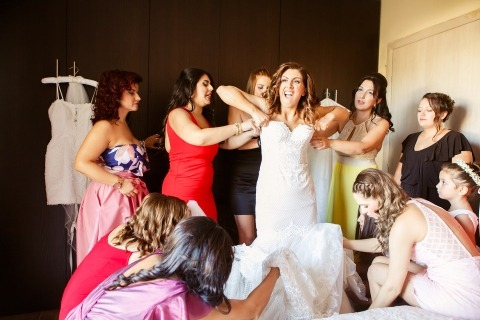 Vasilis Maneas, of , is a wedding photographer for Veria