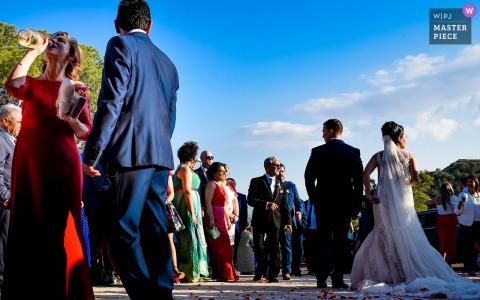 De moeder van de bruidegom | bruiloft fotojournalistiek