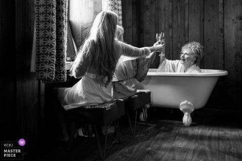 Franse huwelijksfotograaf | Bruiloft in Chamonix Frankrijk