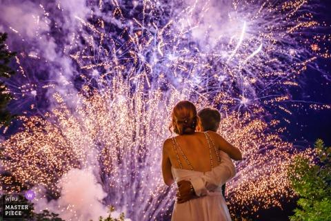 Bruiloftsvuurwerk | Het einde van de nacht | Sofia, Bulgarije